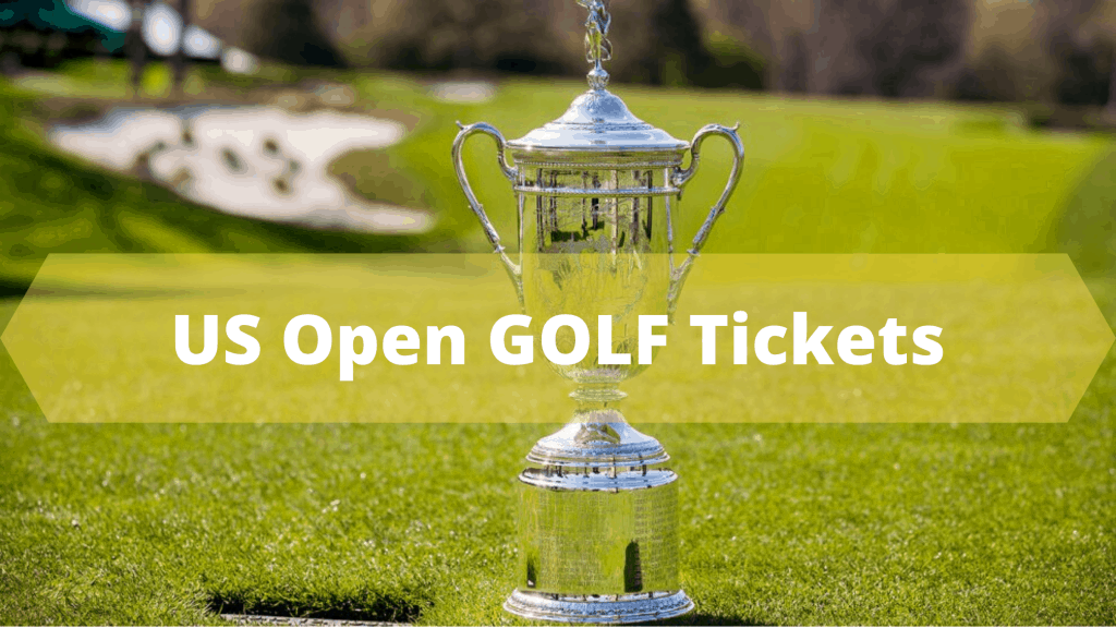 US Open Golf Ticket